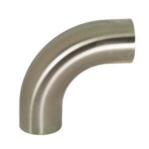 Polished 90° Elbow with Tangents