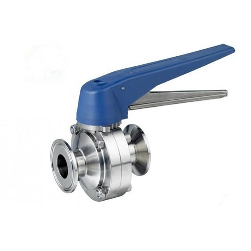 Tri Clamp Butterfly Valve Trigger Handle