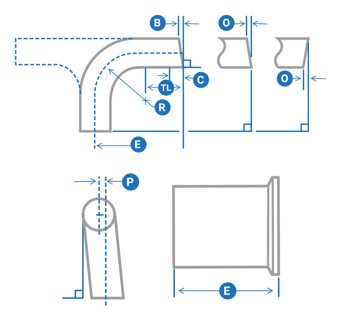 Final Tolerances for Mechanically Polished Fittings and Process Components - 1